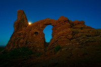 Turret Arch Moon